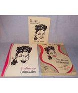 Ethel Merman Call Me Madam Playbill Sheet Music Souvenir Program 1951 - $24.95