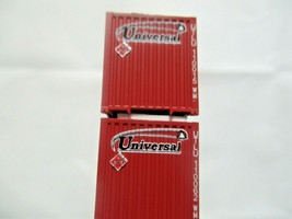 Jacksonville Terminal Company # 537014 Universal  53' 8-55-8  Container N-Scale image 2