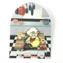 Disney Artist Choice Chef Louis Dinner Surprise Signed Ron Burrage Pin LE - $59.39