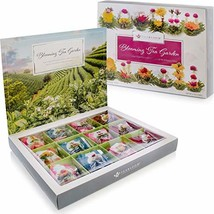 Teabloom Flowering Tea Chest - Finest Quality Blooming Tea Collection Fr... - $32.16