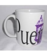 Starbucks Puerto Rico Coffee Cup City Mug Series Purple Black 2006 - $19.78