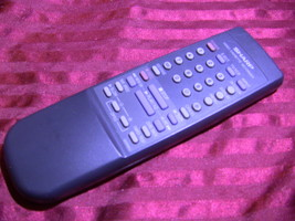SHARP G0006AJ Remote Control w/Battery Cover. Tested - $7.00