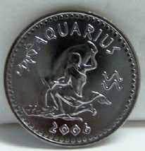 SOMALILAND AQUARIUS 11TH SIGN ZODIAC BIRTHDAY 2006 COIN - $9.79