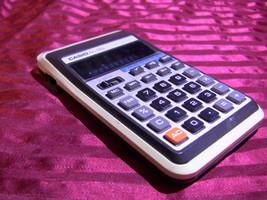 VINTAGE CASIO AL-8S ELECTRONIC CALCULATOR  - $14.99