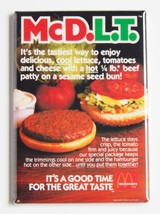 McDlt FRIDGE MAGNET mcdonald's food advertiseme... - $4.95