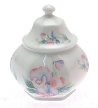 Aynsley Little Sweetheart Hexagonal Covered Caddy 4 inches LSp - $49.15