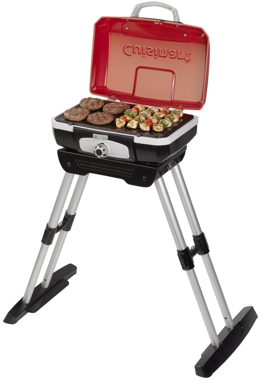 Gas Grill Portable Outdoor BBQ Tailgate Camping Picnic Barbecue Stand Cuisinart