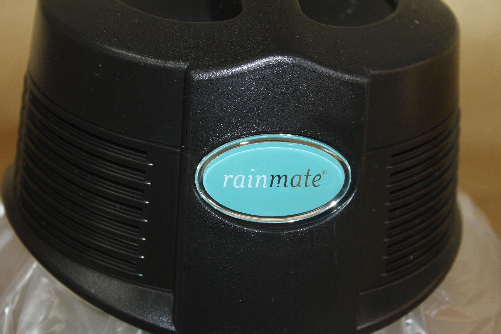 2015 Rainbow Rainmate Air Purifier Humidifier Black E2 Vacuum Fragrance Scent Essential Oils