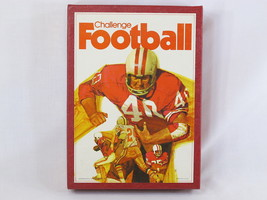 Challenge Football 1972 Board Game 3M Bookshelf Games 100% Complete EUC - $18.69