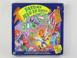 Pay Day Board Game 2000 Hasbro Parker Brothers 100% Complete Excellent B... - $19.16