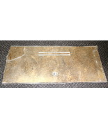 """RV Lt Brown Corian Range Cover (Back Side) Size: 23"""" Wide X 10"""" Long X 3/8"""" - $34.65"""