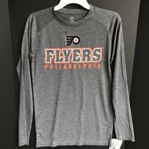 Philadelphia Flyers Long Sleeve Athletic Shirt Size S/CH/P 100% Polyester NEW -c - $19.99