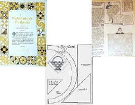 Vintage Patchwork Patterns No 3 McKim Quilts 1930's - $5.00