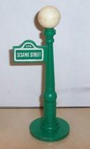 Vintage 80's Fisher Price Little People Lamp Post #938 FPLP Sesame Street - $21.37