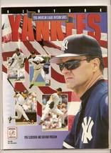 1996 Baseball ALDS Game program Rangers @ Yankees MLB - $42.08