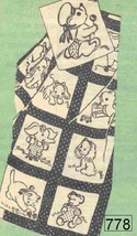 """Baby Pets Quilt embroidery pattern mo778   63"""" x 91"""" - $5.00"""