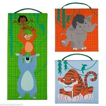 Disney Store Jungle Book Wall Hanging Pictures Canvas New - $69.95