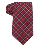 Tommy Hilfiger Men's Traditional Tartans Tie, Red, One Size - $17.81