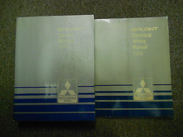 1985 Mitsubishi Galant Service Repair Shop Manual Set 2 Vol Factory Feo Book 85 - $23.75