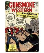 GUNSMOKE WESTERN #77-1963-JACK KIRBY COVER & STORY-MARVEL High Grade VF+ - $333.44