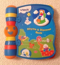 VTech Rhyme & Discover Book  - Helps Children Develop an Interest in Language - $9.90