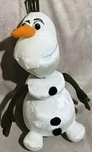 "Disneys Olaf Pull Apart Talking Snowman Frozen Stuffed Animal Plush 14""  B9 - $19.30"