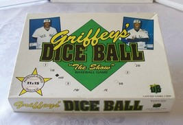 Griffeys Dice Ball Baseball Game Ken Griffey Complete Unpunched - $9.00