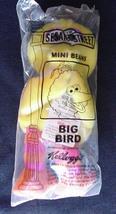 Plush Toy McDonalds Big Bird Happy Meal Toy Sesame Street Big Bird New Package - $9.99