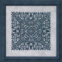 Reflections Of London cross stitch chart Ink Circles  - $9.00
