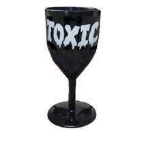 TOXIC Halloween BLACK GOTHIC GOBLET Zombie Prop Costume Party Walking De... - $3.93