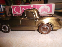 Corvette Coin Bank From Banthric of Chicago IL looks 1953 - $35.00