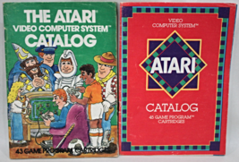 The Atari Video Game Computer System Catalogs Lot of 2 - $9.95