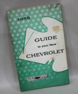 1955 Guide to your New Chevrolet Owner's Manual... - $12.95