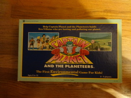 CAPTAIN PLANET & THE PLANETEERS board game The First Environmental Game ... - $7.00