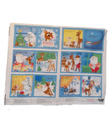 Rudolph Story Book Fabric Panel   - $20.00