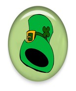 Leprechaun Hat060j  Brad Green Glass-Digital Do... - $3.00
