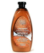 1 Bottle Dead Sea Collection 33.8 Oz Coconut Oil Moisture Mineral Bubble... - $16.99