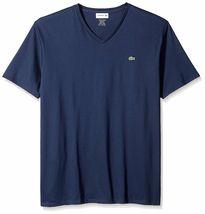Lacoste Men's Premium Pima Cotton Sport Athletic Jersey V-Neck Shirt T-Shirt image 13