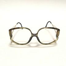 Christian Dior Oversized Sunglasses Rainbow Optyl Eyeglasses Frame Metal... - $102.85