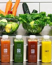 WYSIWYG Cold Pressed RAW Fruit & Veggie Juice 4pk 16 oz BTLS (More Fruit... - $39.59
