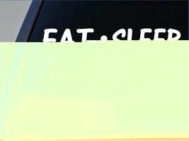 "Eat Sleep Chessies Sticker *G824* 8"" vinyl chesapeake bay retriever duck... - $3.99"