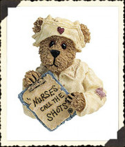 "Boyds Folkrwear ""Karen Gentletouch w/Lil' Bearybutt"" Resin Pin #26155 -New-2002 - $12.99"