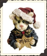 "Boyds Folkrwear ""S.C. Jollyclaws.. Santa's Helper"" Resin Pin #26333-New-2000 - $12.99"