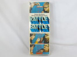 Rattle Battle 1970 Marble Game Parker Brothers 95% Complete EUC Bilingual - $13.74