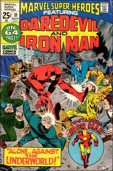 Marvel MARVEL SUPER-HEROES (1967 Series) #31 FN-