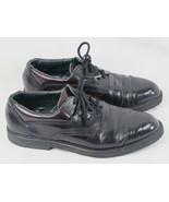 Dexter Black & Dark Cordovan Leather Oxford Shoes Size 8.5 D US EUC - $21.66