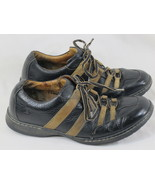BORN Black & Brown Leather Hand Crafted Oxford Shoes 9.5 D US Excellent ... - $26.61