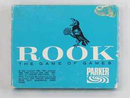 ROOK 1964 Blue Box Card Game Parker Brothers 100% Complete Excellent Con... - $21.66