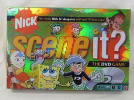 Scene It Nick 2006 Nickelodeon DVD Trivia Game Mattel Complete Excellent - $13.74