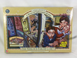 Lemony Snickets 2004 Board Game the Perilous Parlor Game 100% Complete E... - $12.72
